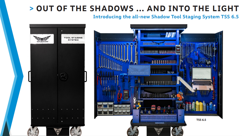shadow tool staging tool box that opens and closes